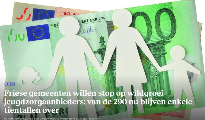 Friese gemeenten willen stop op wildgroei jeugdzorgaanbieders: van de 290 nu blijven enkele tientallen over